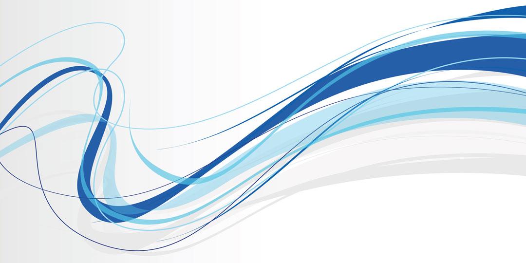 Blue swirl lines