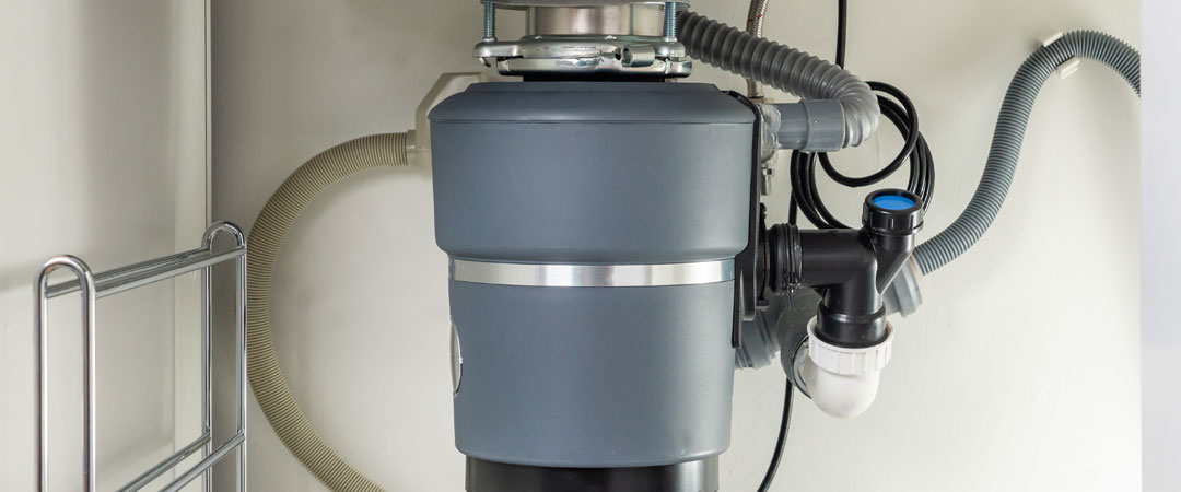 Garbage Disposal under counter designed for septic tanks