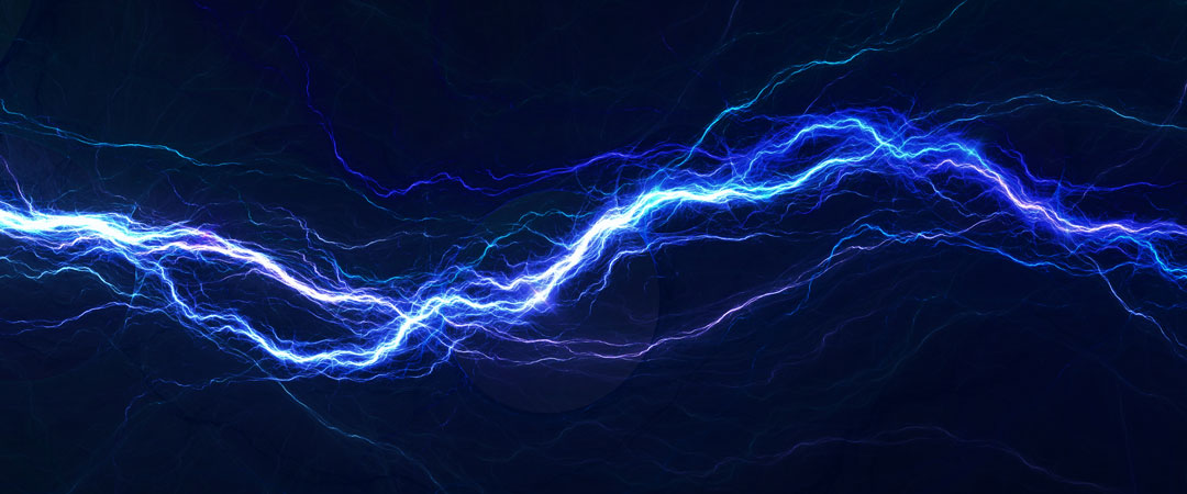 Blue electric current